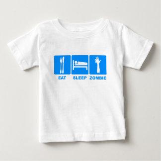 Eat Sleep Zombie Baby T-Shirt
