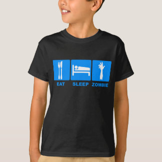 Eat Sleep Zombie T-Shirt