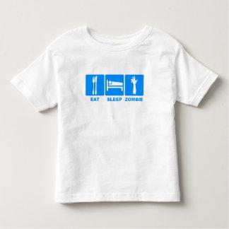 Eat Sleep Zombie Toddler T-shirt