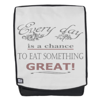 Eat Something Great Backpack