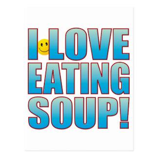 Eat Soup Life B Postcard