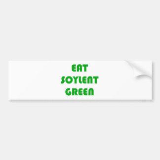 Eat Soylent Green Car Bumper Sticker