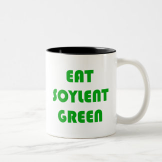 Eat Soylent Green Two-Tone Coffee Mug