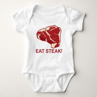 Eat STeak Baby Bodysuit