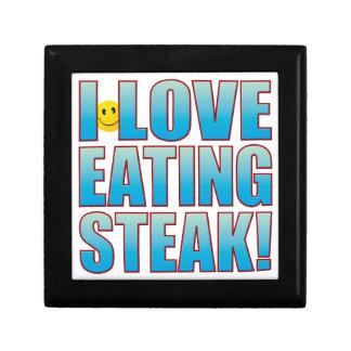 Eat Steak Life B Jewelry Box