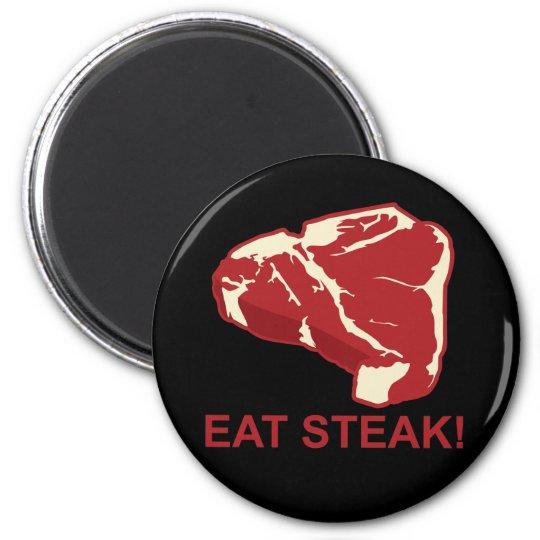 Eat STeak Magnet