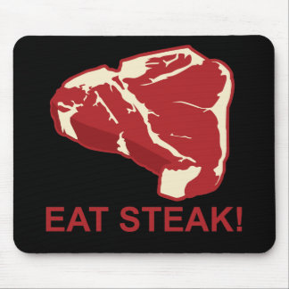 Eat STeak Mouse Pads