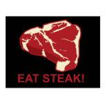 Eat STeak Post Cards