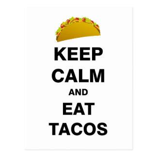 Eat Tacos Postcard