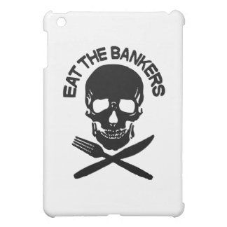 eat the bankers Skull and Bones Case For The iPad Mini