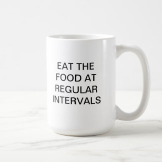EAT THE FOOD CLASSIC WHITE COFFEE MUG