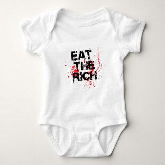 Eat The Rich Baby Bodysuit
