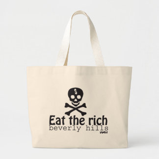 EAT THE RICH TOTE BAGS