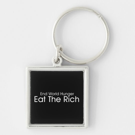 Eat The Rich Keychain