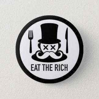 Eat the Rich Man Button