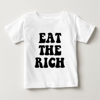Eat The Rich Occupy Wall Street Baby T-Shirt