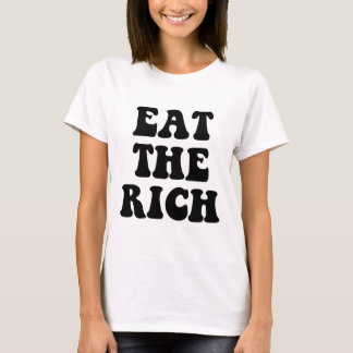 Eat The Rich Occupy Wall Street T-Shirt
