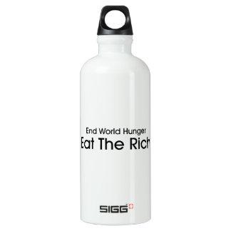 Eat The Rich SIGG Traveler 0.6L Water Bottle