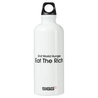 Eat The Rich Water Bottle