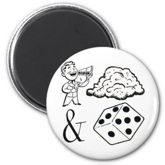 Eat (This) and Die! 2 Inch Round Magnet