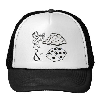 Eat (This) and Die! Trucker Hats