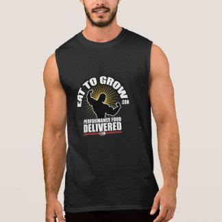 Eat To Grow Men's Sleeveless Sleeveless Shirts