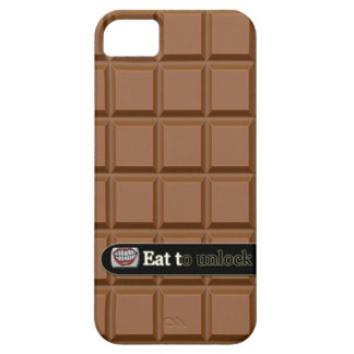 eat to unlock chocolate iphone 5 case