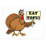 Eat Tofu Postcard
