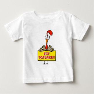 Eat Tofurkey Thanksgiving Gift Baby T-Shirt
