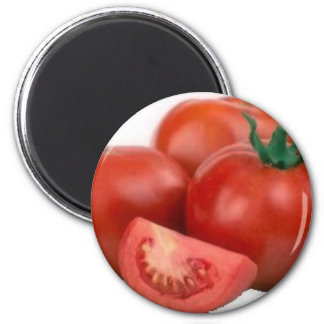 Eat Tomatoes 2 Inch Round Magnet