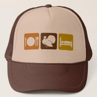 Eat Turkey and Sleep Trucker Hat