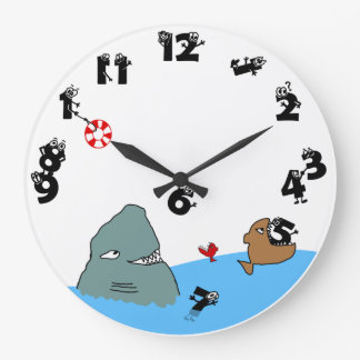 Eat Up My Time Wall Clocks