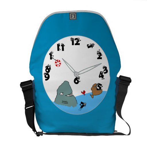 Eat Up My Time Messenger Bag