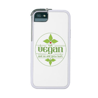 Eat Vegan and No One Gets Hurt iPhone 5/5S Case