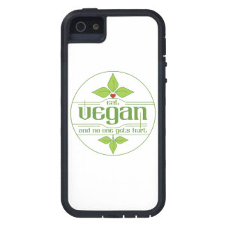 Eat Vegan and No One Gets Hurt Case For iPhone SE/5/5s