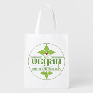 Eat Vegan and No One Gets Hurt Grocery Bag