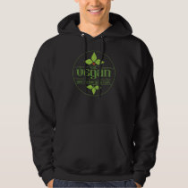 Eat Vegan and No One Gets Hurt Hooded Pullovers