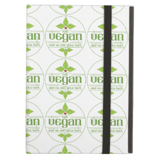 Eat Vegan and No One Gets Hurt iPad Air Covers