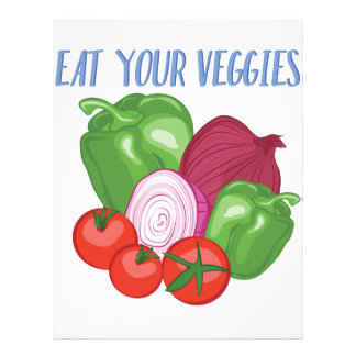 Eat Veggies Letterhead