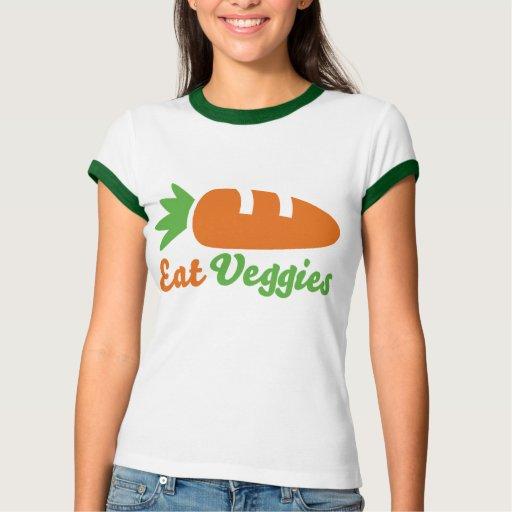 Eat Veggies T Shirts