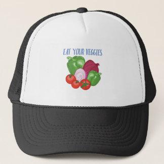 Eat Veggies Trucker Hat