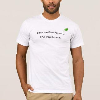 Eat Vegitarians T-Shirt