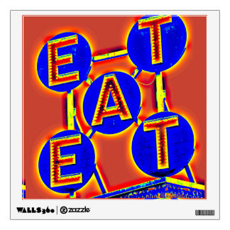 eat wall decal