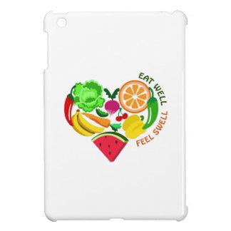 eat well feel swell iPad mini cover