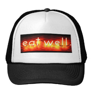 Eat Well, My Neon Sign Hats