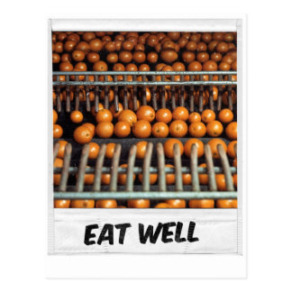 Eat Well Postcard