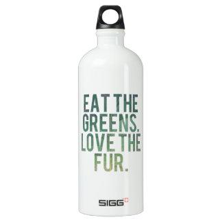 Eat Yo Greens! Aluminum Water Bottle