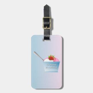 Eat yogurt, it's cultured bag tag