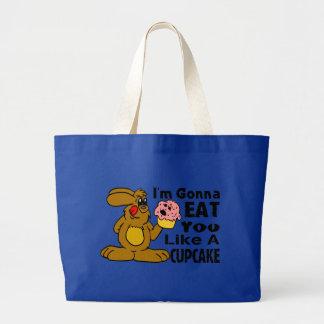 Eat You Like A Cupcake Canvas Bag