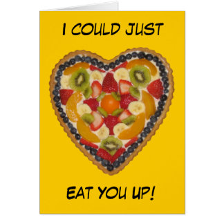 Eat you up - Valentine's day card